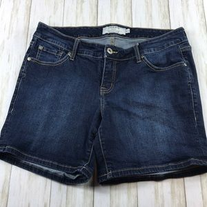 Torrid Blue Jean Shorts Size 12